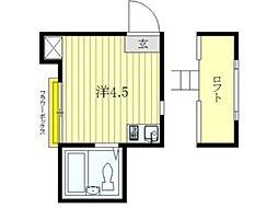 トレフィオーリ[2階]の間取り