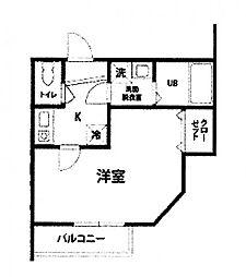 カインドネス八王子北野町[3階]の間取り