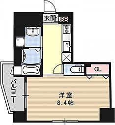 ベラジオ京都烏丸十条[305号室号室]の間取り