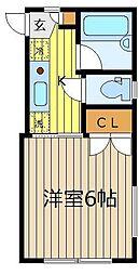 シャロームハウス[2階]の間取り