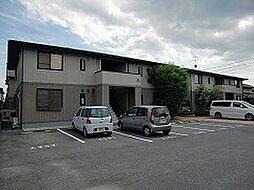 岡山県岡山市南区大福の賃貸アパートの外観