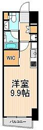 ザ・パークハビオ上野[12階]の間取り
