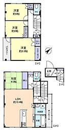 メゾネットオオヤマ[2階]の間取り