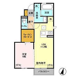 仮)D-room取手ゆめみ野39街区[C101号室]の間取り