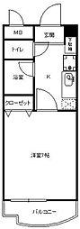アルファコートIII[4階]の間取り