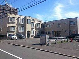 北海道札幌市東区北三十六条東16丁目の賃貸アパートの外観