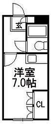 マイライフ102[1階]の間取り