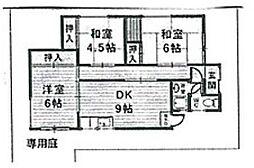 [一戸建] 大阪府豊中市春日町2丁目 の賃貸【/】の間取り