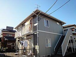 東京都東村山市久米川町5丁目の賃貸アパートの外観