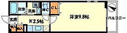 大阪府吹田市山田東1丁目の賃貸アパートの間取り