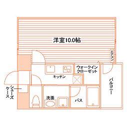 Casa Felice(仮称:春日町学生マンション)[LN902号室]の間取り