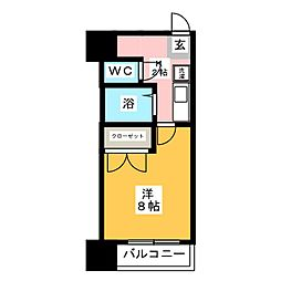 グリンハイツ[2階]の間取り