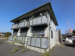 千葉県印旛郡酒々井町ふじき野2丁目の賃貸アパートの外観