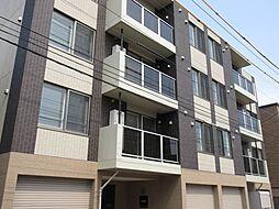 北海道札幌市中央区南十条西8丁目の賃貸マンションの外観