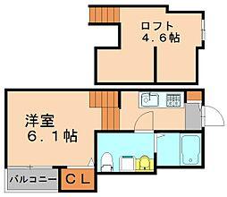 ニューライフ博多駅東[1階]の間取り
