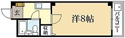 シンフォニハイツヒエイ[2階]の間取り