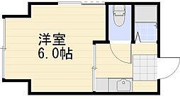 長野県長野市大字東和田の賃貸マンションの間取り