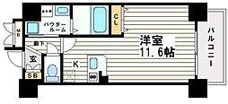 アスヴェル大阪城WESTⅡ[5階]の間取り