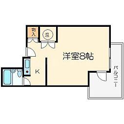 センチュリー21壱番館[6階]の間取り