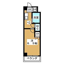 ファリオ四条[8階]の間取り