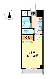 ネオサイト[5階]の間取り