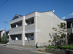 愛知県小牧市大字小松寺の賃貸アパートの外観