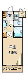東京都豊島区要町3丁目の賃貸マンションの間取り