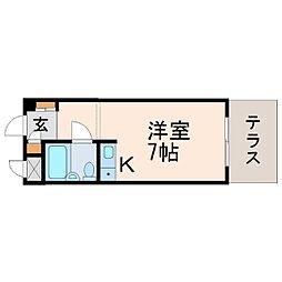 NEOダイキョー甲子園口[1階]の間取り