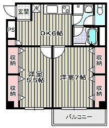 エスポワール大和[3階]の間取り