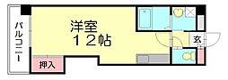 アクシス東平尾2[2階]の間取り