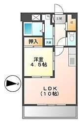 メゾンアルフィニ[3階]の間取り