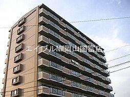 岡山県岡山市中区さい丁目なしの賃貸マンションの外観