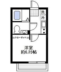 カーサ蒔田[1階]の間取り