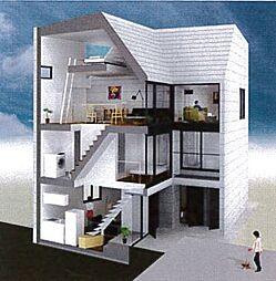 ハウス・ホンマチ[D号室号室]の外観