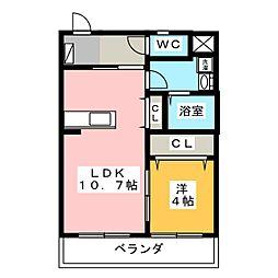 Spring House Maruzuka[3階]の間取り