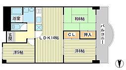 Kプラザ[310号室]の間取り