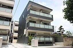 大阪府大阪市平野区背戸口2丁目の賃貸アパートの外観