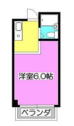 セレーヌ西所沢[1階]の間取り