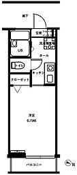 CASA White[3-D号室]の間取り
