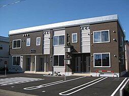 北海道滝川市緑町5丁目の賃貸アパートの外観