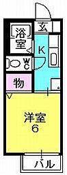 エアフォル夙川[105号室]の間取り