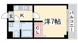 DOIマンション[5階]の間取り