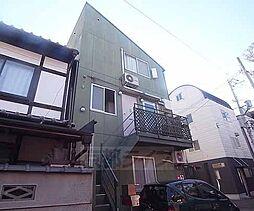 京都府京都市左京区吉田牛ノ宮町の賃貸アパートの外観