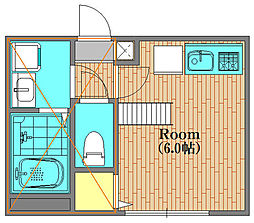 リブ・ソフィッタ 102号室[1階]の間取り