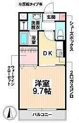 愛知県名古屋市南区要町3丁目の賃貸マンションの間取り