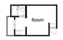 アパートメント東淀川III[2階]の間取り