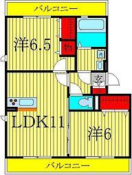 GRACE II[2階]の間取り