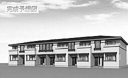 広島県尾道市新高山3丁目の賃貸アパートの外観