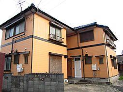 福岡県中間市長津2丁目の賃貸アパートの外観