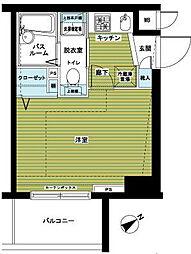 神奈川県横浜市港北区新横浜1丁目の賃貸マンションの間取り